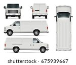 suv car vector template for car ... | Shutterstock .eps vector #675939667