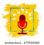 vintage vector illustration of... | Shutterstock .eps vector #675950485