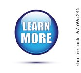 blue glossy learn more button... | Shutterstock .eps vector #675965245