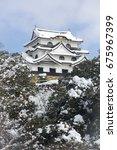 Hikone Castle Of Snow