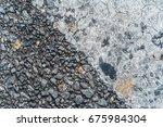 texture of cement | Shutterstock . vector #675984304