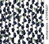 hand drawn seamless pattern of ... | Shutterstock . vector #675993607