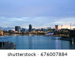 singapore   july 9  2017  ... | Shutterstock . vector #676007884