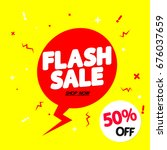 flash sale  50 percent off