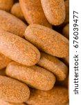 studio photo of pills | Shutterstock . vector #676039477