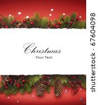 art christmas announcement | Shutterstock . vector #67604098
