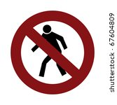 do not enter sign | Shutterstock . vector #67604809