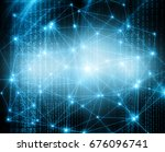 abstract background with... | Shutterstock . vector #676096741