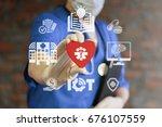 smart innovative medical... | Shutterstock . vector #676107559
