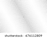 abstract halftone dotted... | Shutterstock .eps vector #676112809