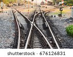 Multiple Railway Track Switche...