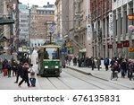 helsinki  finland   march 17 ...   Shutterstock . vector #676135831