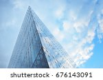 modern building.modern office... | Shutterstock . vector #676143091