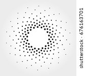 halftone vector illustration | Shutterstock .eps vector #676163701