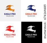 eagle vector logo icons symbol | Shutterstock .eps vector #676164685