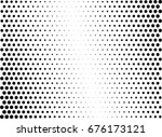 abstract halftone dotted... | Shutterstock .eps vector #676173121