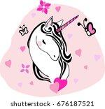 creative universal card. simple ... | Shutterstock .eps vector #676187521