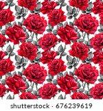 Red Roses  Black Leaves....