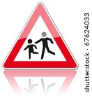 road sign | Shutterstock . vector #67624033