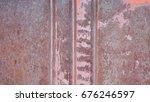 background of old metal  rust... | Shutterstock . vector #676246597