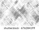 halftone dots background   logo ... | Shutterstock .eps vector #676284199