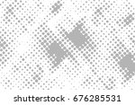 halftone dots background   logo ... | Shutterstock .eps vector #676285531