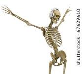 Dj Skeleton In Freedom