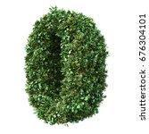 3d rendering of vertical garden ... | Shutterstock . vector #676304101
