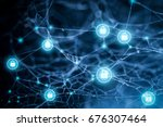 data protection and insurance. ... | Shutterstock . vector #676307464
