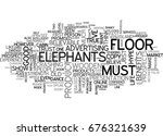 elephants dance on wooden... | Shutterstock .eps vector #676321639