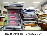 cabinet drawer and wire... | Shutterstock . vector #676323709