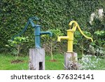groundwater lever   Shutterstock . vector #676324141