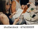 bridal shower  | Shutterstock . vector #676330009
