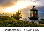 Cape Meares Sunset With...