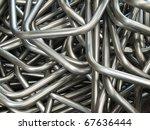 abstract of pipe bending... | Shutterstock . vector #67636444