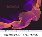 abstract background design.... | Shutterstock .eps vector #676375405