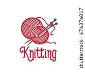 Knitting Needle Pins And Wool...