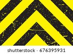 line yellow and black color...   Shutterstock .eps vector #676395931