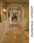 mansion hallway and luxury... | Shutterstock . vector #6764029