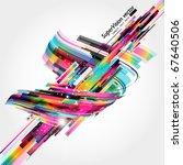 abstract background vector | Shutterstock .eps vector #67640506