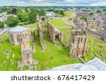 Elgin Cathedral  Historic Ruin...
