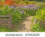 Rural Retro Fences In The...