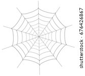 halloween spider autumn...   Shutterstock .eps vector #676426867