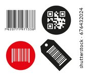 icon illustration barcode.... | Shutterstock . vector #676432024