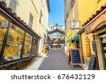 antibes  france   july 01  2016 ... | Shutterstock . vector #676432129