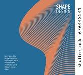 minimal cover. future geometric ...   Shutterstock .eps vector #676443541
