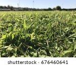 green grass | Shutterstock . vector #676460641