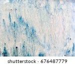 beautiful glazes effect of... | Shutterstock . vector #676487779