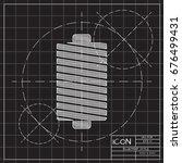 vector blueprint tailor thread...   Shutterstock .eps vector #676499431