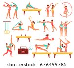 decorative icons set with...   Shutterstock .eps vector #676499785